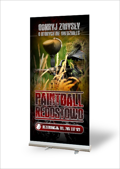 roll-up paintball